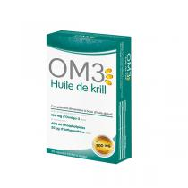 OM3 - Huile de krill 30 capsules