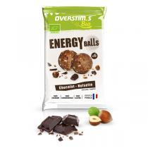 Overstims - Sachet de 6 Energy balls bio chocolat noisette