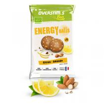 Overstims - Sachet de 6 Energy balls bio citron amande