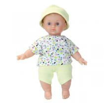 Petitcollin - Poupée Léo Ecolo Doll 25 cm - Dès 10 mois