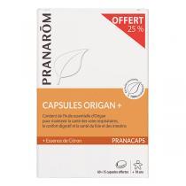 Pranarôm - Capsules à l'origan 60 capsules + 15 offertes