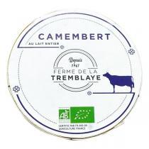 Produits Bio & Locaux IDF - Camembert fermier de La Tremblaye 250g