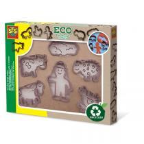 SES Creative - Eco-accessoires pour modelage - 6 pièces