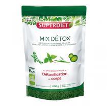 SUPERDIET - Mix détox bio en poudre 200g