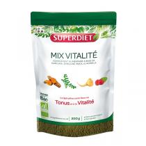 SUPERDIET - Mix vitalité bio en poudre 200g