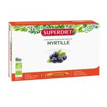 SUPERDIET - Myrtille bio 20x15ml