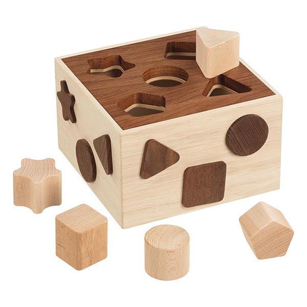 Goki - Boite a formes en bois - Des 1 an