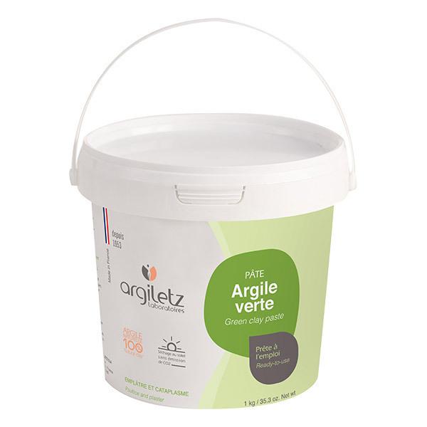 Argiletz - Pot argile verte prête à l'emploi 1Kg