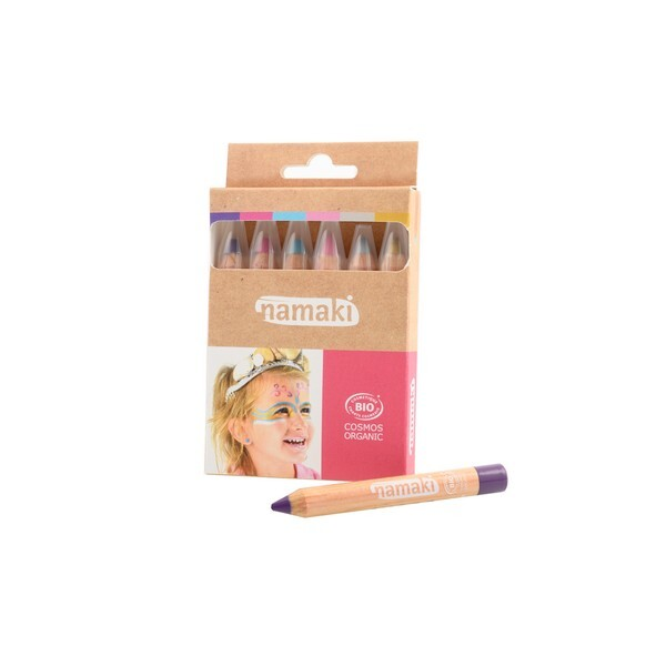 Namaki - Kit 6 crayons de maquillage - Des 3 ans