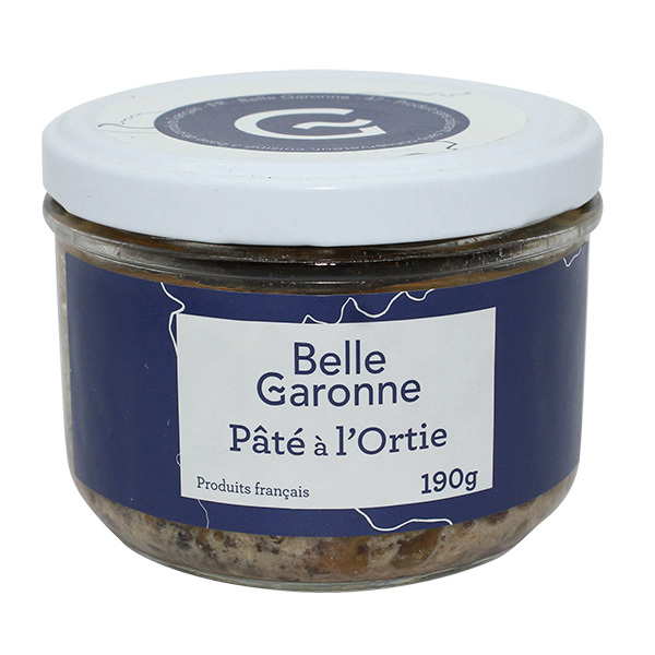Belle Garonne - Pâté à l'ortie 190g