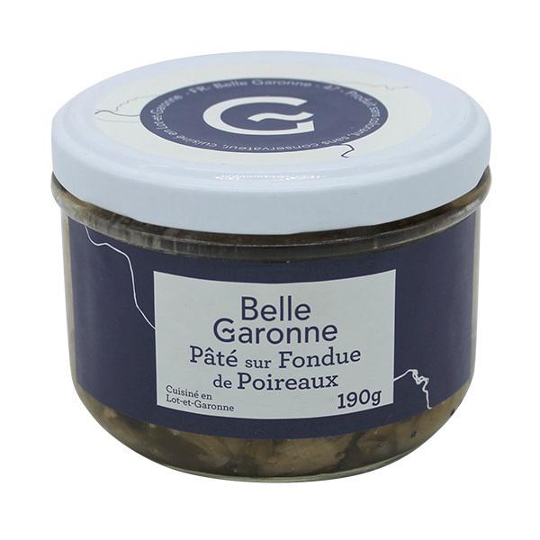 Belle Garonne - Pâté sur fondue de poireaux 190g