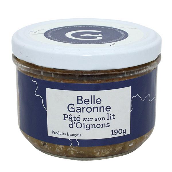 Belle Garonne - Pâté sur son lit d'oignons 190g