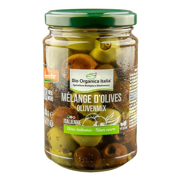 Bio Organica Italia - Mélange d'olives dénoyautées 280g
