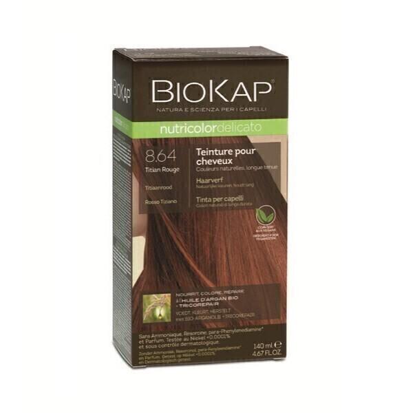 Biokap - Coloration Delicato 8.64 Rouge titien 140 ml