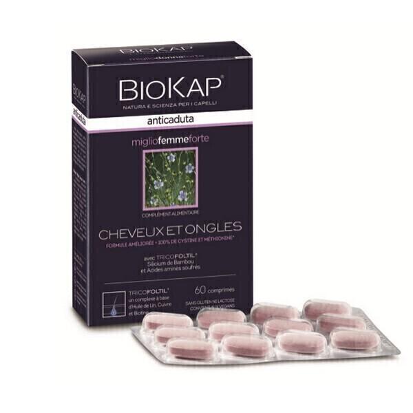 Biokap - Complément alimentaire miglio femme 60comp