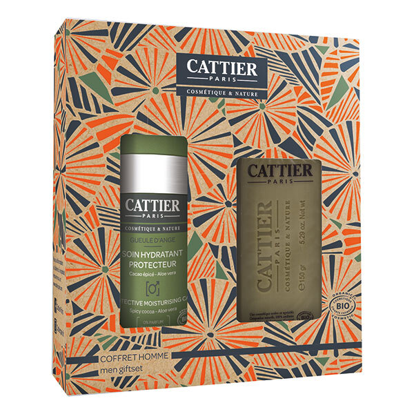 Cattier - Coffret homme 50ml + 150g