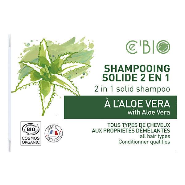 Ce'BIO - Shampooing solide 2en1 Aloe vera 85g