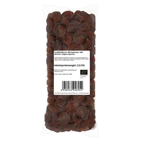 Clasen Bio - Abricots secs 2,5kg