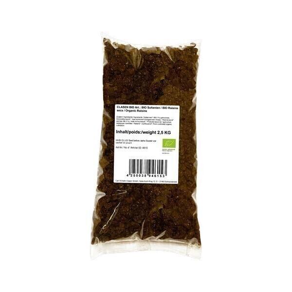 Clasen Bio - Raisins secs 2,5kg
