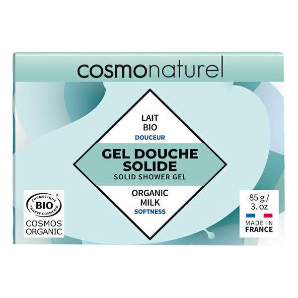 Cosmo Naturel - Gel douche solide douceur 85g