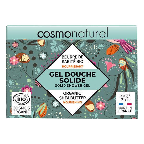 Cosmo Naturel - Gel douche solide nourrissant 85g