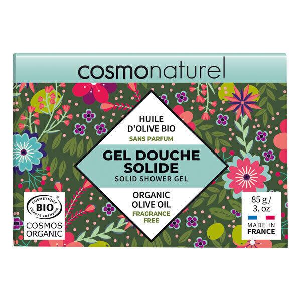 Cosmo Naturel - Gel douche solide sans parfum 85g