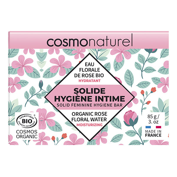 Cosmo Naturel - Solide hygiène intime hydratant 85g