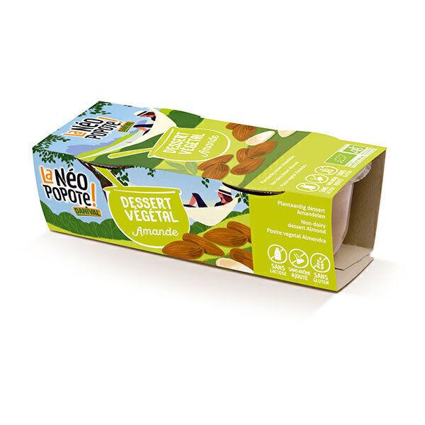 Danival - Dessert végétal amande 2x100g