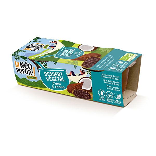 Danival - Dessert végétal coco cacao 2x100g