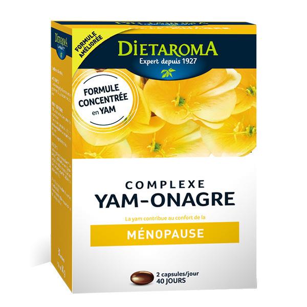 Dietaroma - Yam et onagre 80 capsules