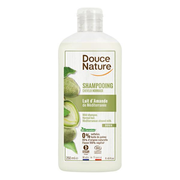 Douce Nature - Shampoing cheveux normaux à l'Amande 250ml
