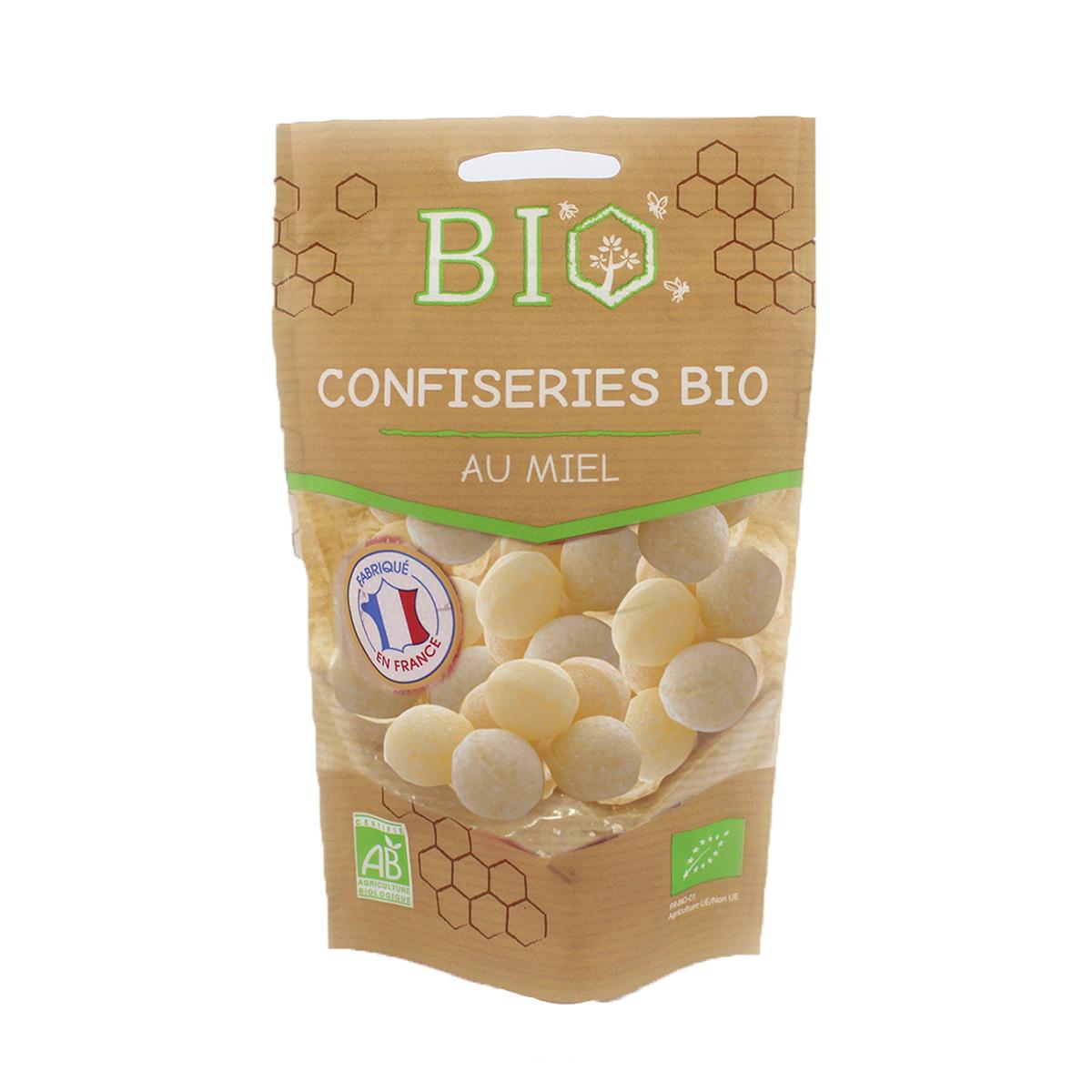 Gabriel Perronneau - Bonbons boules fourrées au miel 120g