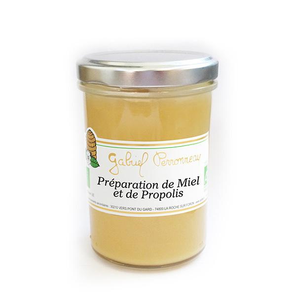 Gabriel Perronneau - Miel crémeux et 0.8% extrait propolis 120g
