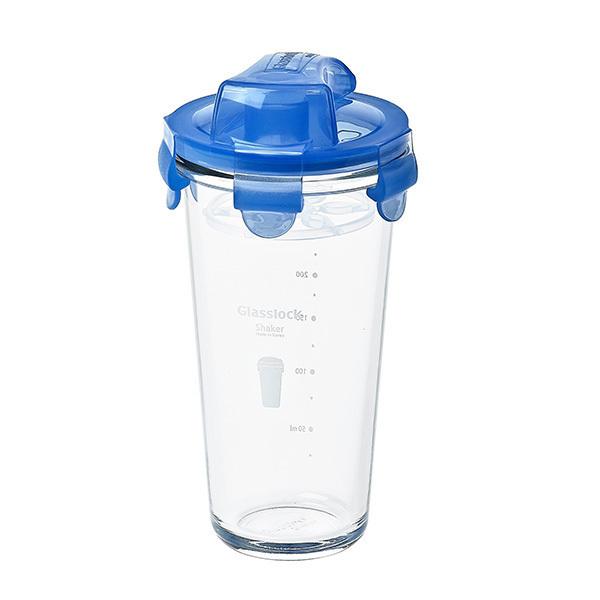 Glasslock - Shaker à vinaigrette en verre 45cl