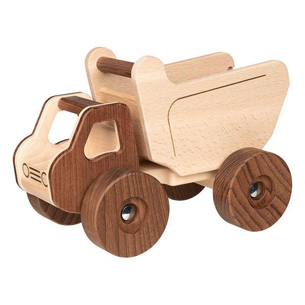 Goki - Camion benne en bois - Dès 3 ans