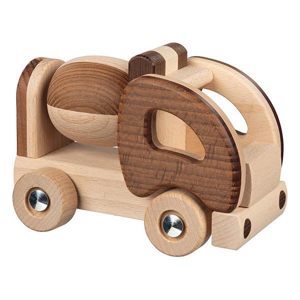 Goki - Camion toupie en bois - Dès 2 ans
