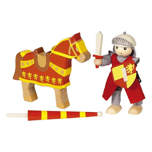Goki - Chevalier Artus avec son cheval - Dès 3 ans