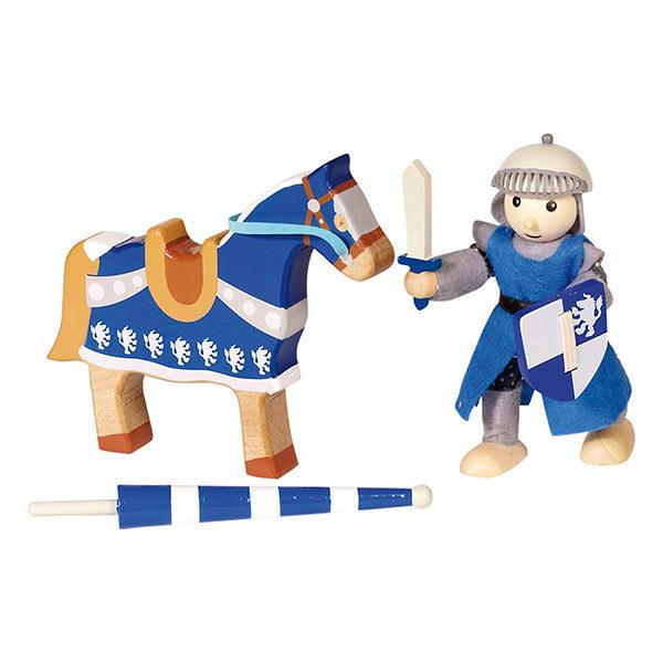 Goki - Chevalier Lancelod avec son cheval - Dès 3 ans