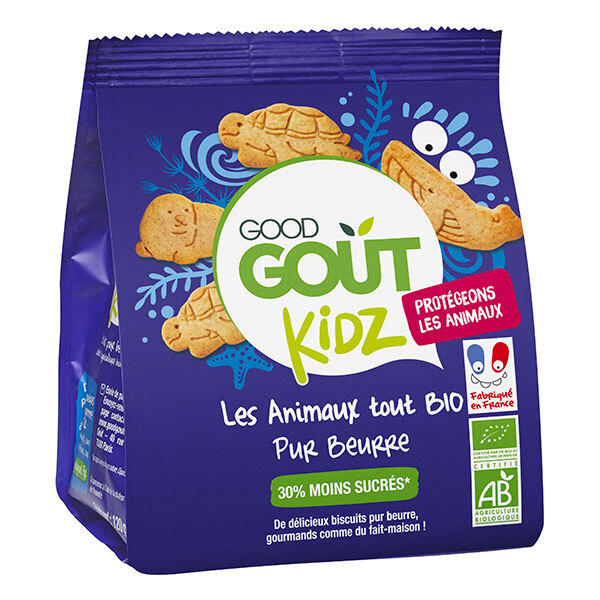 Good Gout - Biscuits animaux pur beurre 120g - Dès 36 mois
