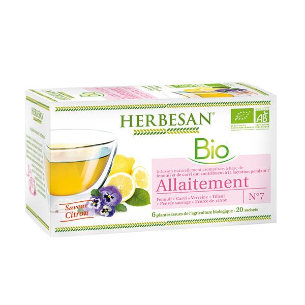 Herbesan - Infusion allaitement bio 20 sachets