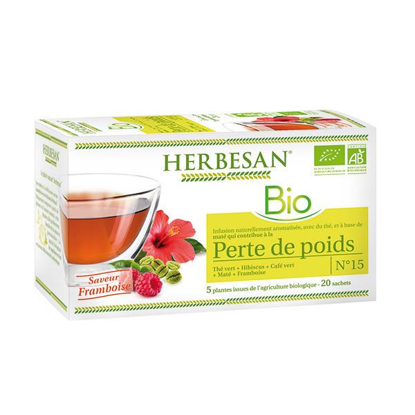 Herbesan - Infusion perte de poids bio 20 sachets