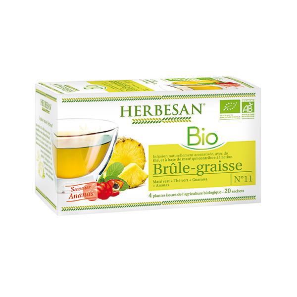Herbesan - Infusion brûle-graisse bio 20 sachets