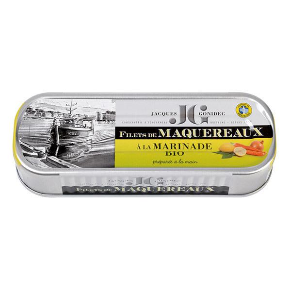 Jacques Gonidec - Filets de maquereaux marinés 176g