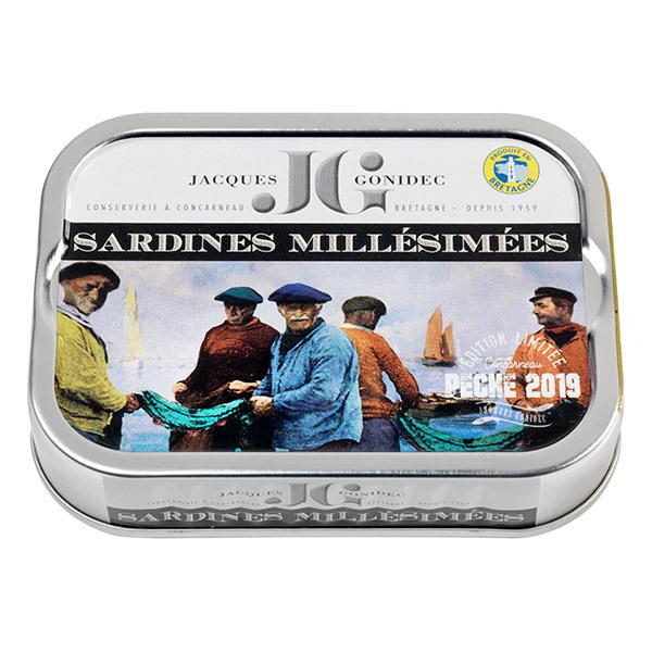 Jacques Gonidec - Sardines millésimées 115g