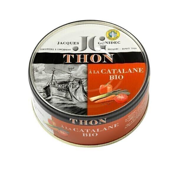 Jacques Gonidec - Thon listao à la sauce Catalane 160g