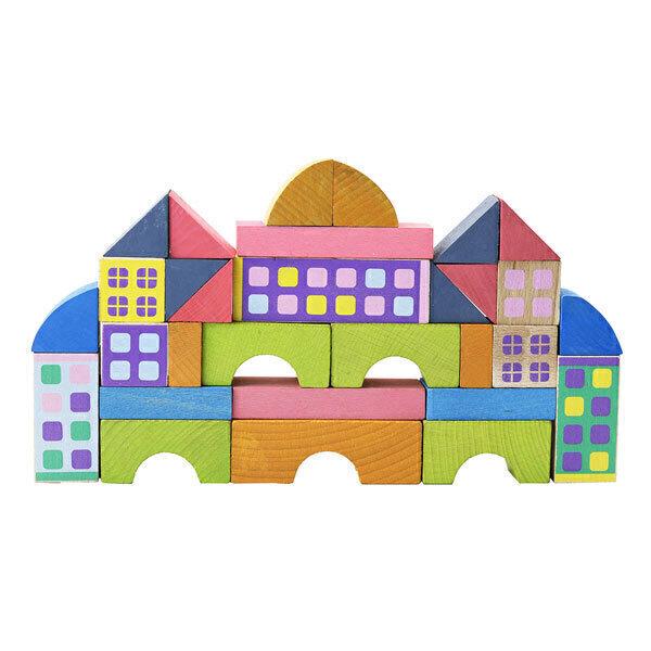 Jeujura - Miniville 50 pieces - Dès 2 ans