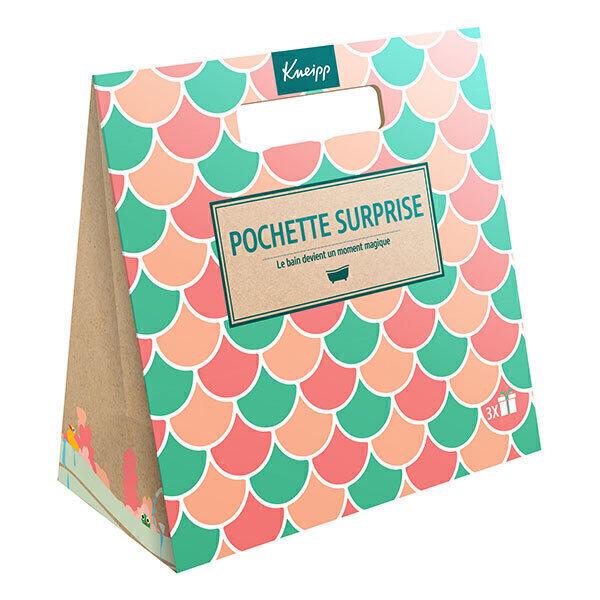 Kneipp - Pochette surprise bain rose 150+40ml + 95g