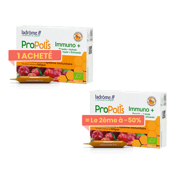 Ladrôme - Duo Propolis Immuno+ ampoule 40x10ml