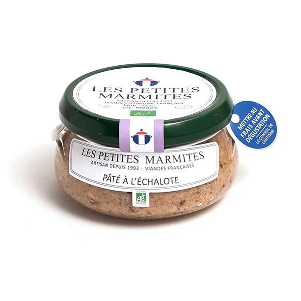 Les Petites Marmites - Pâté à l'échalote 150g