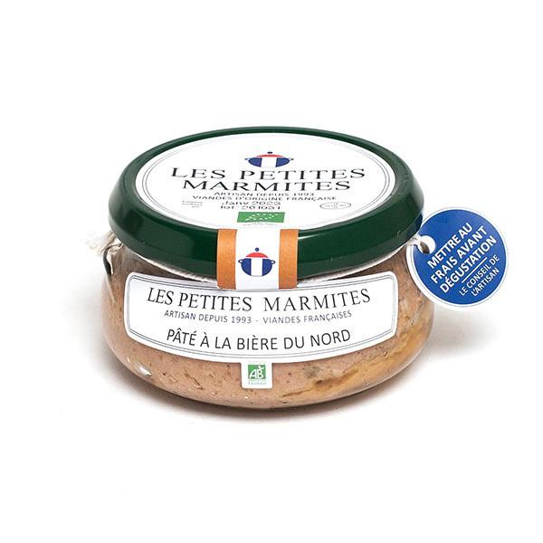 Les Petites Marmites - Pâté à la bière du Nord 150g